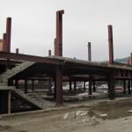 Lucrările la hala agroalimentară au fost suspendate la 1 februarie