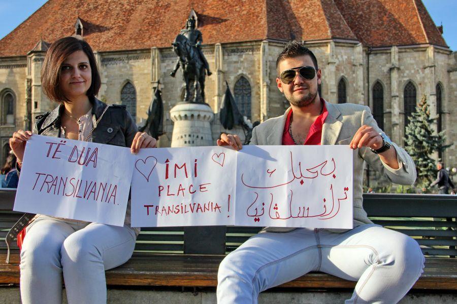 Romina şi Mike nu exclud posibilitatea de a rămâne în România defintiv după încheierea studiilor/Foto: Dan Bodea
