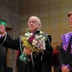 """Lawrence Foster a primit titlul de Doctor Honoris Causa al Academiei de Muzică """"Gheorghe Dima""""/Foto: Dan Bodea"""