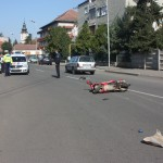 Accidentul a avut loc duminică,   în jurul orei 11.00