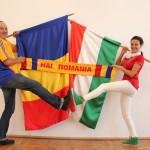 Ninel și Aliz așteaptă cu sufletul la gură duelul România-Ungaria / Foto: Dan Bodea