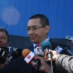 Victor Ponta,   la inaugurarea secției Rombat de baterii start-stop
