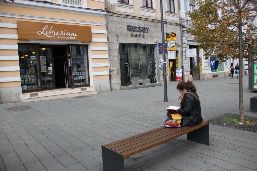 Actuala Librarium este situată pe Bulevardul Eroilor nr. 15/Foto: Dan Bodea