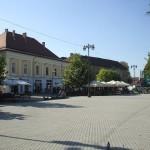 Piața Millenium din Baia Mare / Sursa foto: panoramio.com