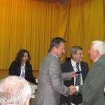 Doctorul Augustin Pop,   felicitat de preşedintele Consiliului Judeţean