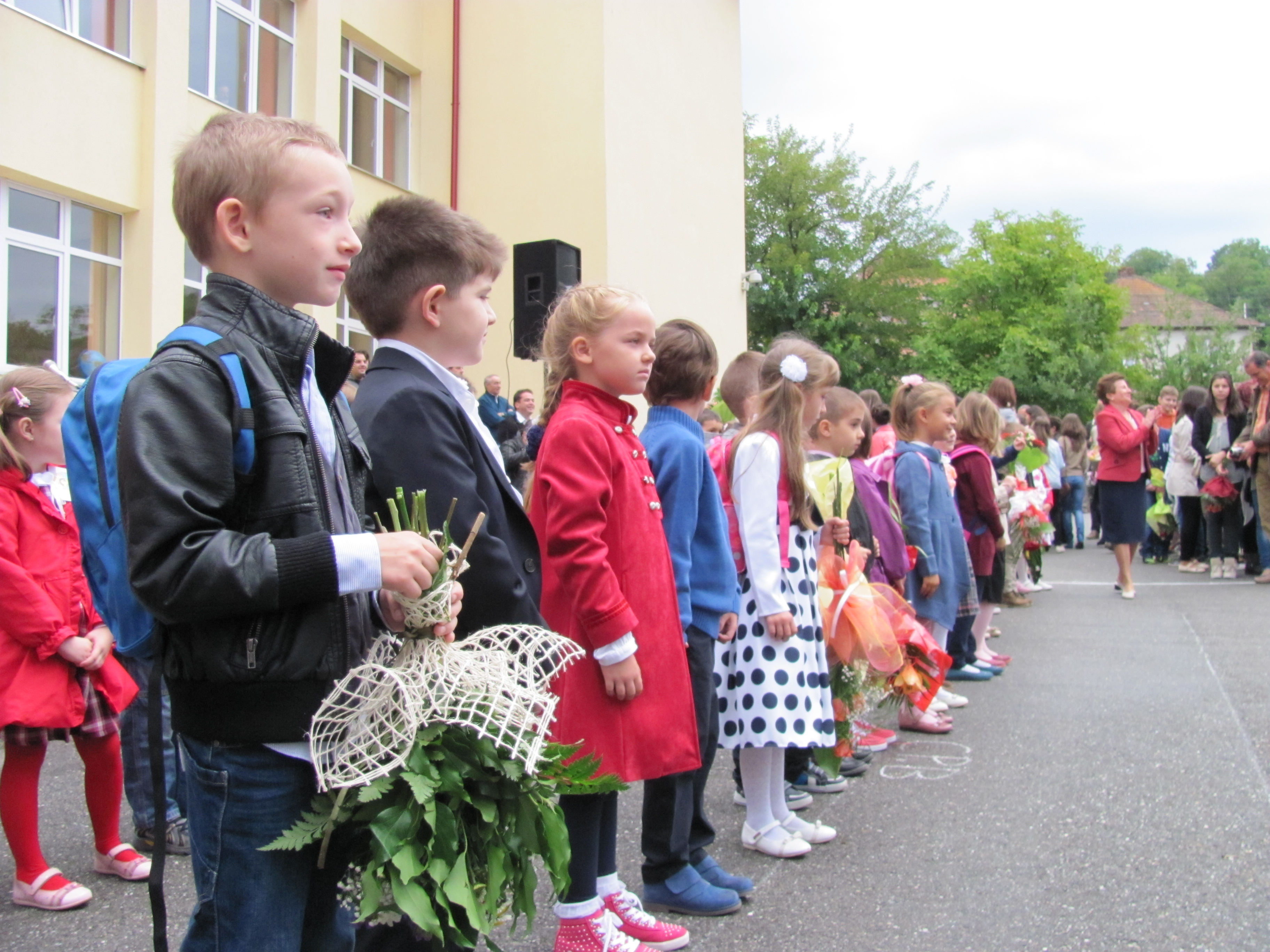 Trei clase pregătitoare încep anul la Şcoala Gheorghe Lazăr
