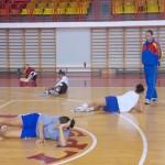 Baschetbalistele de la CSM au programate câte două antrenamente zilnice