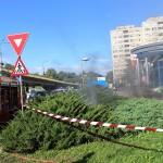 Cablurile subterane din zona Băncii Țiriac au luat foc din cauza unui scurt circuit