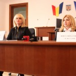 Judecător Camelia Pop (stânga) și Corina Hotca (dreapta)  FOTO: Vasile Mihovici