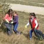 Let's do it,   Romania: Condamnații și tinerii,   primii la strâns gunoaie