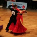 Perechea Vlad Pâslariu-Eszter Pop, au cucerit locul I, la categoria Standard, la Campionatul Mondial de Dans Sportiv, Braşov 2013