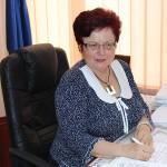 Eugenia Sabou,   directoarea Casei Judeţene de Pensii Satu Mare