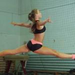 Cristina Conţiu, locul 3 şi medalie de bronz la bikini fitness / Foto: Ovidiu Sebastian