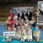 Ginmastele de la LPS duc mai departe tradiția acestui sport în Baia Mare
