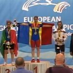 Clujeanca Denisa Felecan s-a încoronat dublă campioană europeană la haltere