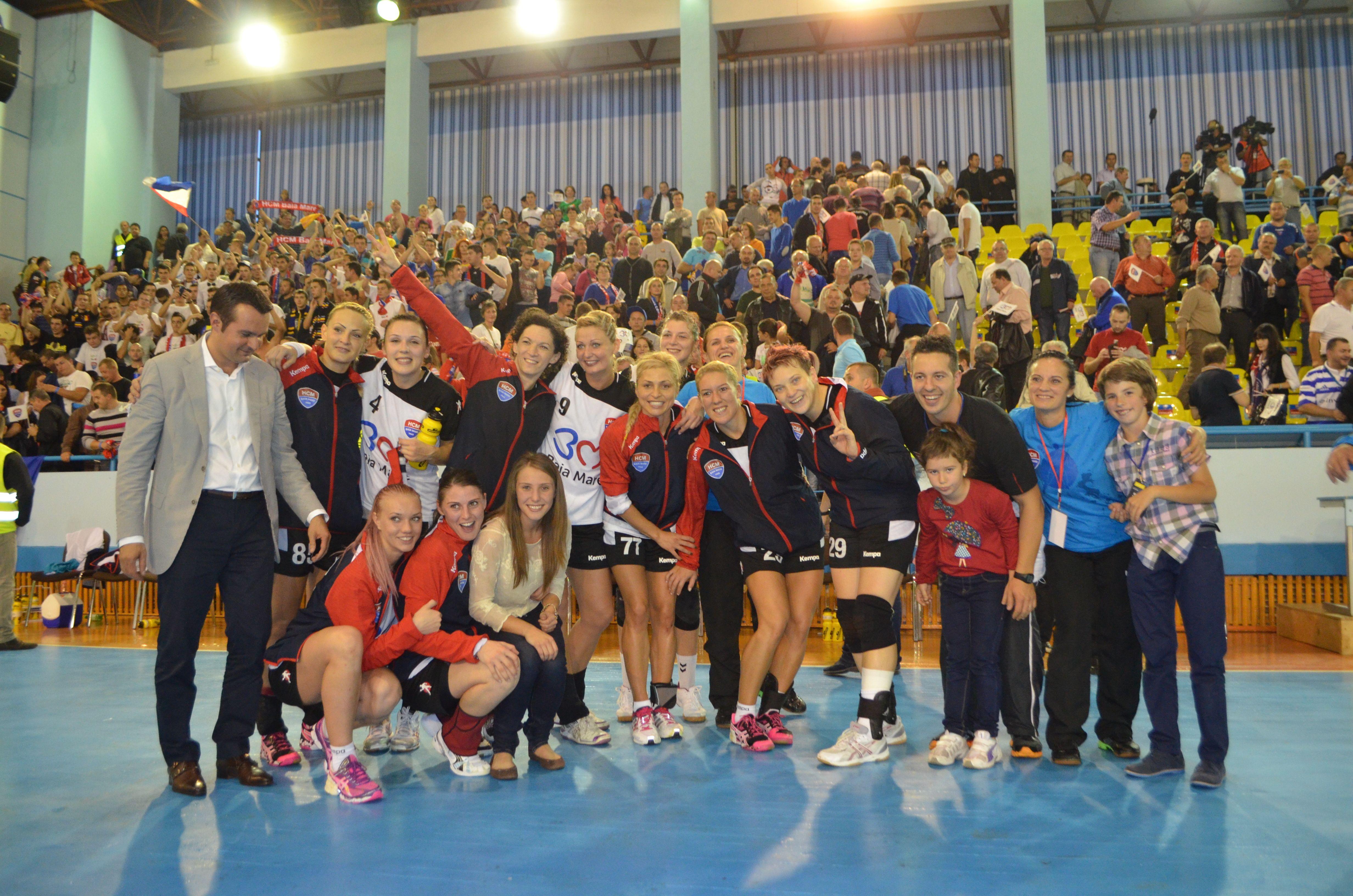 HCM Baia Mare a obținut o performanță extraordinară calificându-se în grupele principale ale Ligii Campionilor