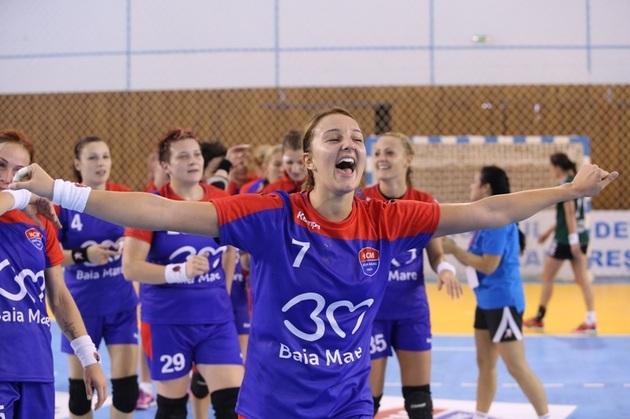 HCM Baia Mare a realizat o performanţă uluitoarea,   obţinând calificarea în grupele principale ale Ligii Campionilor