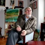 """Poetul clujean Horia Bădescu are în pregătire cel de-al patrulea volum al """"Cărţilor vieţuirii"""",   intitulat """"Dinaintea ta merge tăcerea""""/Foto: Dan Bodea"""
