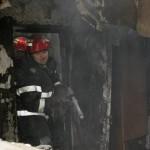 Boschetarii au incendiat acoperișul