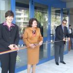 La inaugurarea din 2008 au fost prezenţi lideri importanţi ai magistraturii româneşti