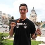 Alexandru Laslo este unul dintre cei mai valoroşi handbalişti din Cluj / Foto: Dan Bodea