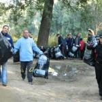 La acţiunea de curăţenie au participat 3.600 de voluntari din judeţul Satu Mare