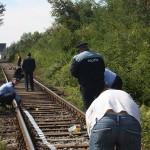 Sătmărean lovit mortal de tren / Update: Martorii susțin că aceasta s-a sinucis