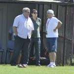Petre Grigoraș (foto,   în dreapta) ar putea avea o discutie decisiva cu președintele Iuliu Mureșan (foto,   în stânga) după meciul cu Pandurii Târgu Jiu de duminică / FOTO Dan Bodea