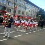 Parada a colindat întreg orașul în aplauzele băimărenilor