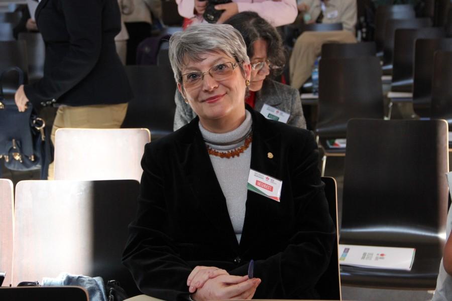 Începând cu anul 2008, Nagy Ágnes este membru în Consiliul de Administraţie al Băncii Naţionale a României/Foto: Dan Bodea