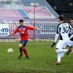 Divizionara secundă,   FC Bihor,   n-a reuşit să treacă,   în 16-imile Cupei României,   de ACS Poli Timişoara,   deşi a jucat pe teren propriu