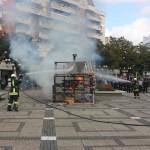 Demonstratii ale pompierilor