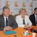 Cătălin Predoiu a susținut  vineri,   la Satu Mare,   o conferință de presă