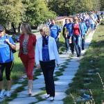 La Promenada Inimilor au participapat aproximativ 50 de persoane dornice să facă mişcare