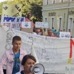Un nou miting împotriva proiectul Roşia Montană