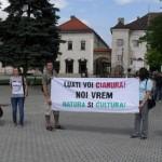Băimărenii sunt așteptați la statuia Ostașului Român din Parcul Municipal / Sursa foto: ziarmm.ro