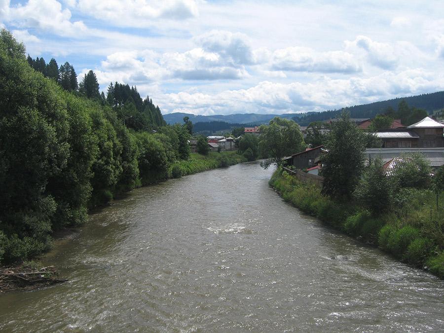 Râul Bistrița / Sursa foto: wikimedia.org