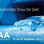 Salonul Auto de la Frankfurt,   12-22 Septembrie 2013