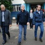Oficialii au vizitat mai multe comunităţi de romi care trăiesc la periferia oraşului Baia Mare