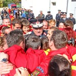 """Generalul Vasile Şomlea şi-a încheiat cariera militară: """"Sunteţi cei mai buni şi o să-mi fie dor de voi!"""""""