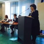 Întâlnirea traducătorilor şi interpreţilor de conferinţă a avut loc cu ocazia deschiderii anului universitar al Masteratului European de Traductologie-Terminologie şi al Masteratului European de Interpretare de Conferinţă/Foto: Cristina Beligăr