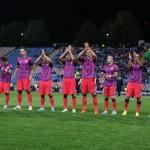 Steaua nu a reuşit să câştige nici după cel de al treilea meci în Liga Campionilor şi şi-a compromis şansele de calificare în primăvară