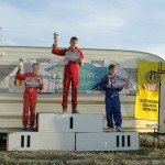 Juniorul băimărean David Tarța (foto,   în stânga) a urcat pe podium în aproape toate competițiile în care a alergat anul acesta