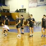 Voleibaliștii de la Universitatea Cluj încearcă,   miercuri,   să întoarcă rezultatul din manșa I a Cupei României / Foto Dan Bodea