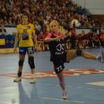 Ada Nechuita s-a accidentat la ultimul meci al echipei naționale și ar putea rata meciul cu Hypo Viena / Foto Bogdan Groza