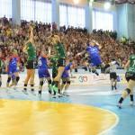 HCM Baia Mare întâlnește, sâmbătă, campioana Europei la Handbal feminin, Gyor ETO / Foto Bogdan Purcaru