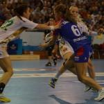 Al treilea meci în Liga Campionilor ar putea însemna primul succes pentru HCM Baia Mare / Foto Bogdan Groza