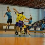 Handbaliștii de la Minaur Baia Mare au obținut în etapa precedentă un rezultat excelent în fața Științei din Bacău / Foto Bogdan Purcaru