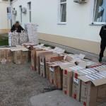 Focuri de armă şi captură impresionantă de ţigări în valoare de 176.000 de euro,   la frontiera cu Ucraina