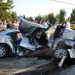 Accidentul de circulaţie a avut loc pe podul Decebal din municipiul Satu Mare